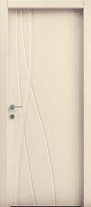 דלת פנים שלייפלק 3 חריצים מתעגלים